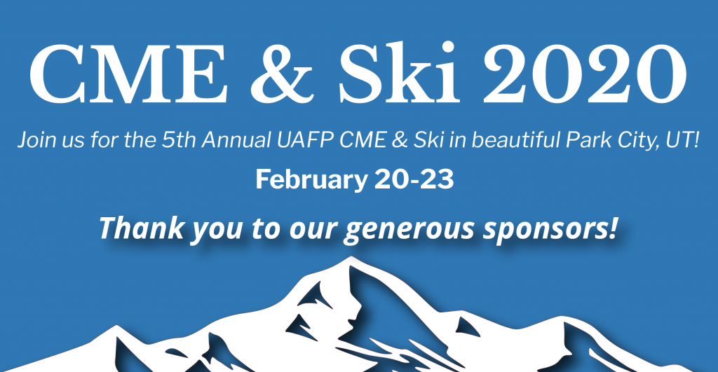 CME and SKI Banner sponsors